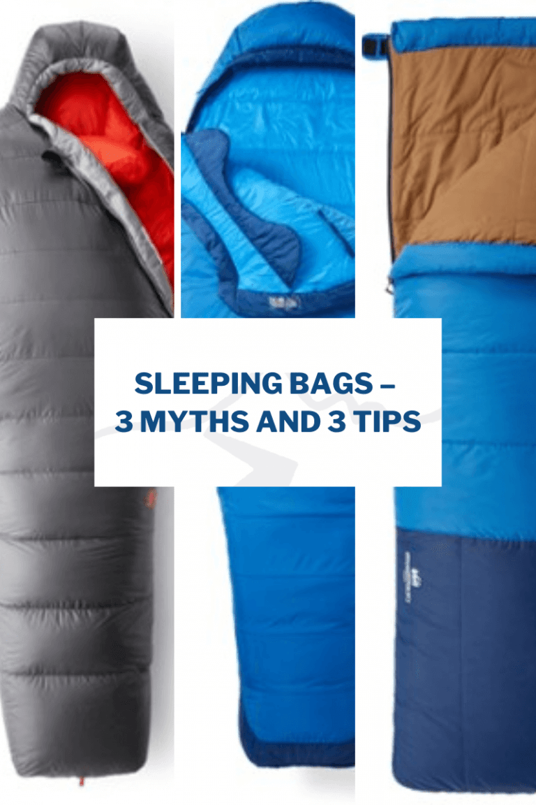 Sleeping bags – 3 myths and 3 tips
