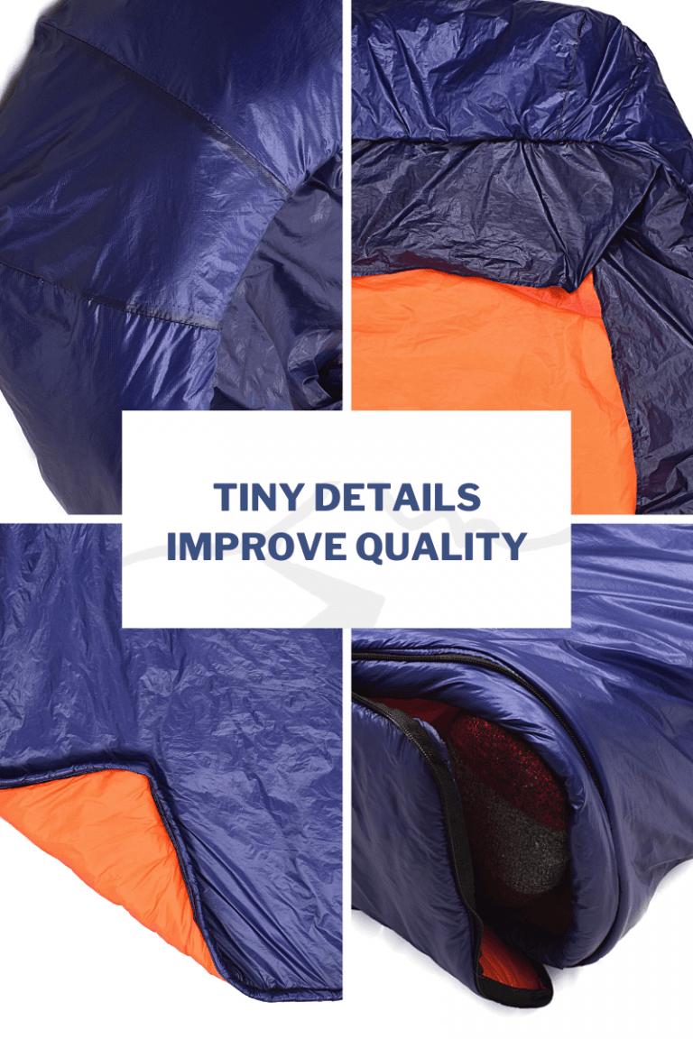 Tiny details improve quality