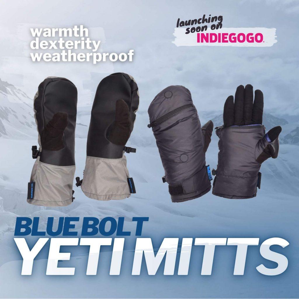 Blue Bolt Yeti Mitts product image